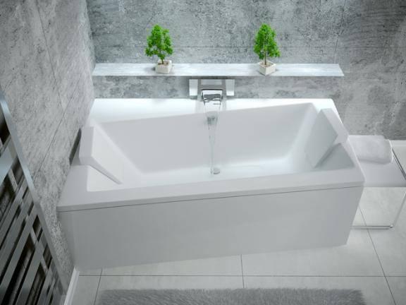 Ванна акрилова BESCO INFINITI (150*90) ліва
