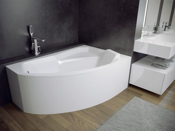Ванна акрилова BESCO RIMA (150*95) права