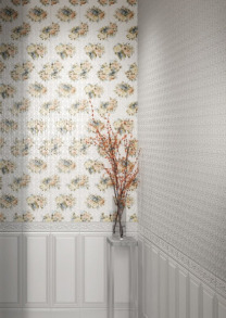 Плитка керамічна ARABESCO стіна біла (рельєф) 23х60 131061-2. Фото 3