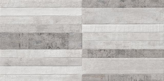 Плитка керамічна KERALA GRIS DEKOR 30х60 (стіна)