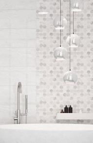 Плитка керамічна Golden Tile Marmo Milano сіра 8М251 підлога 607x607. Фото 2