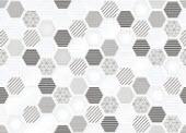 Плитка керамічна для стіни NICOLE INCERTO HEXAGON 30х45